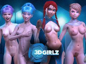 3D Girlz - XXX desnuda porno juego