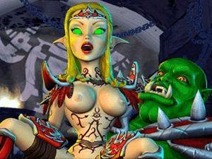 BoneCraft - porn duende en XXX juego de fantasía