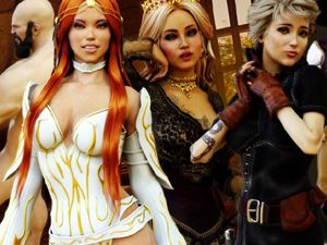 Seducing the Throne - juego sexual XXX RPG