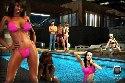 chicas de la piscina